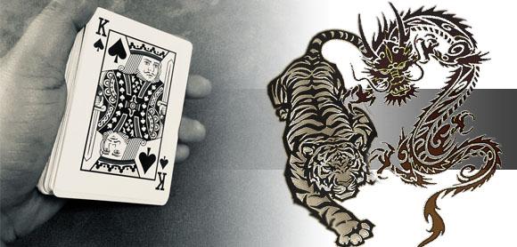 ประวัติของเกมส์ไพ่เสือมังกร