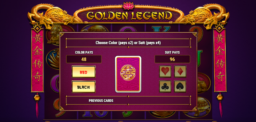 Golden Legend - gamble