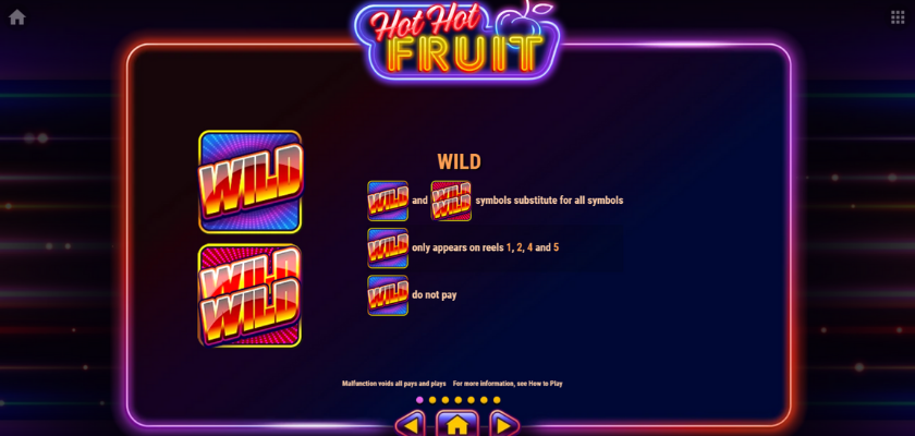 Hot Hot Fruit - symbols