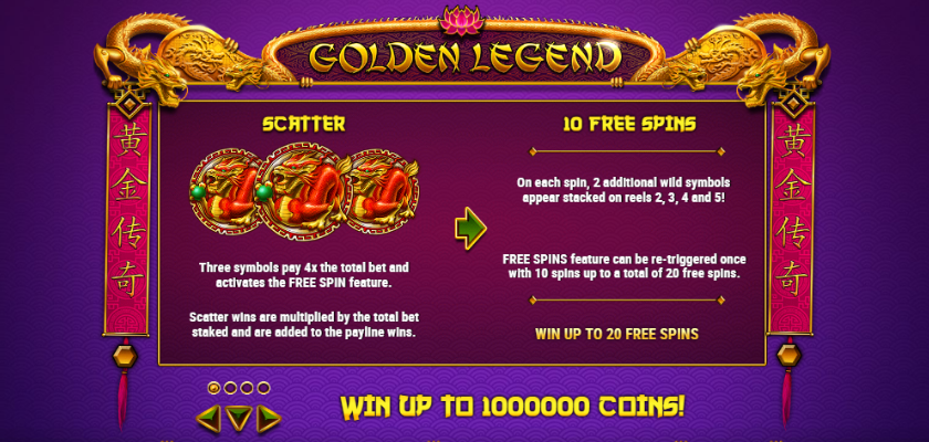 Golden Legend - features