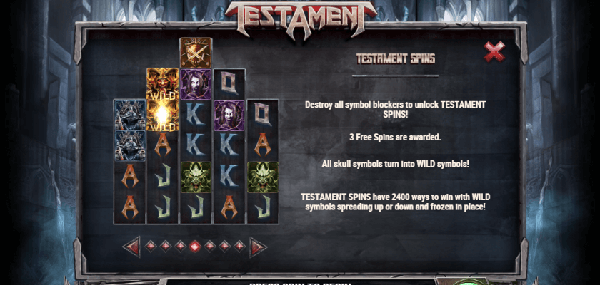 Testament - features
